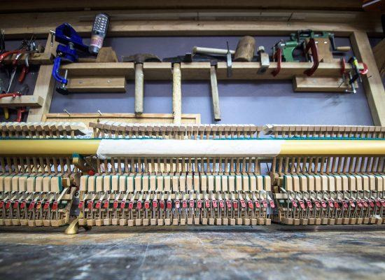 Atelier - Mécanisme d'un piano