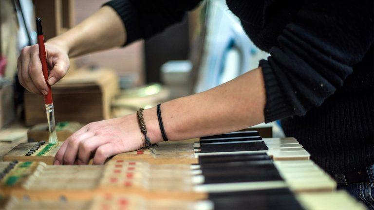 Atelier - Restauration d'un piano