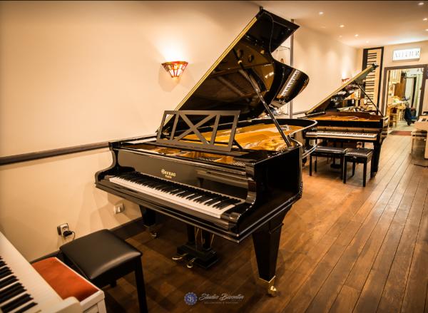 Piano à queue Gaveau grand concert