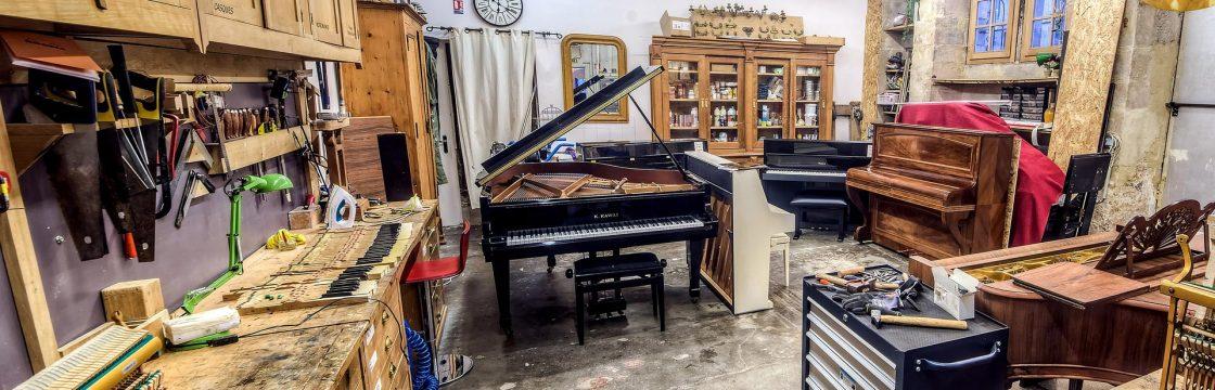 Atelier Gaëtan Leroux - Piano Kawaï
